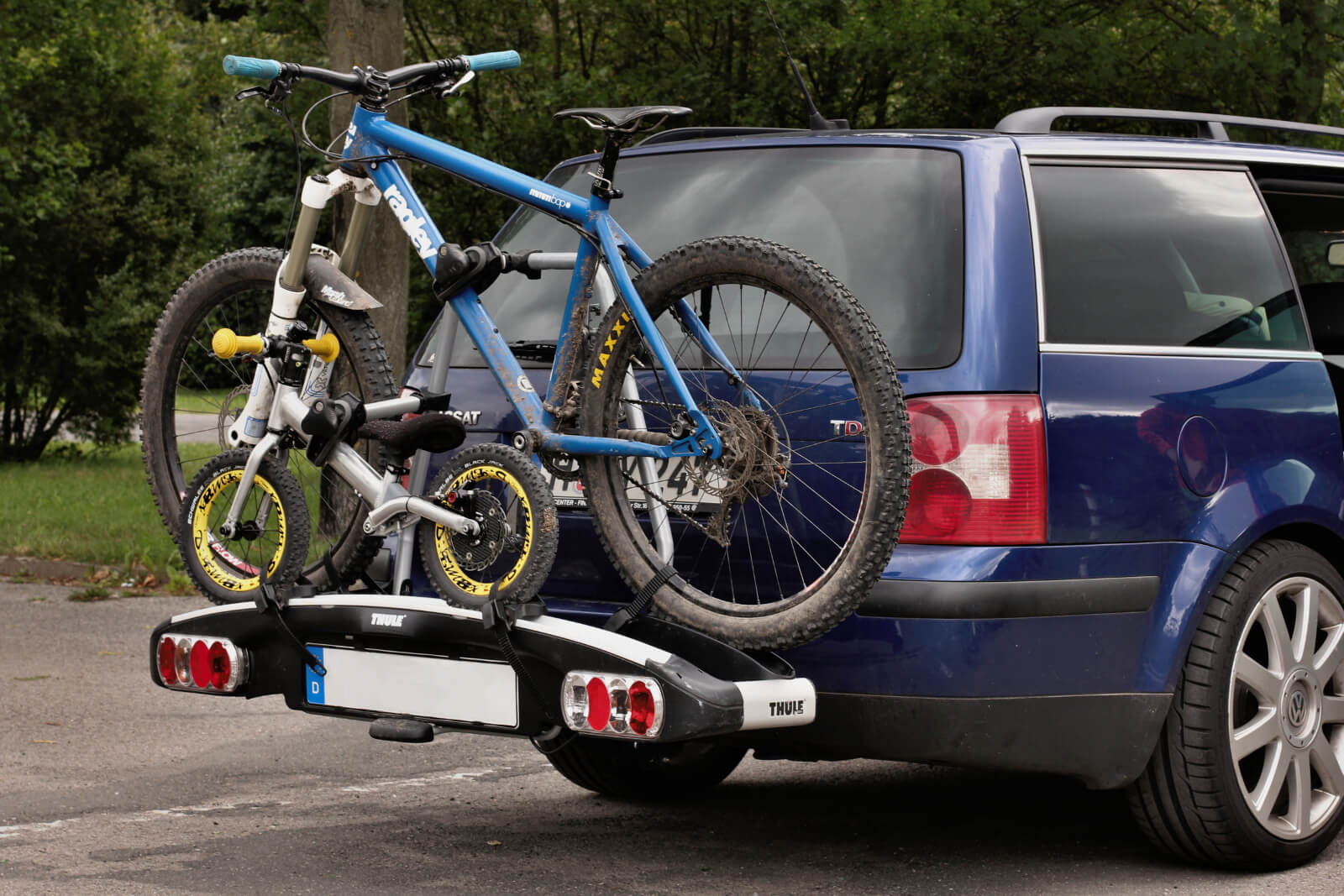Connect 2 Bicycles to your car Bike Carrier MaxxHaul 2-Bike Hitch Mount Rack