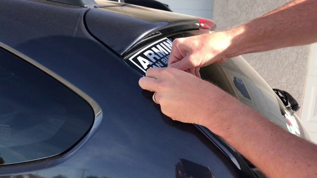 How To Remove Stickers From Car Window >> How To Remove Stickers From Windshield Carcarehunt
